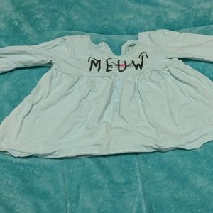 Meow baby shirt